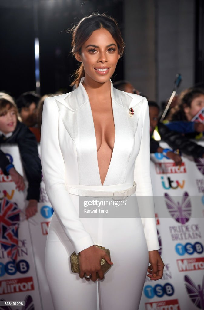 Rochelle Humes attends the Pride Of Britain Awards at the Grosvenor House on October 30, 2017 in London, England.