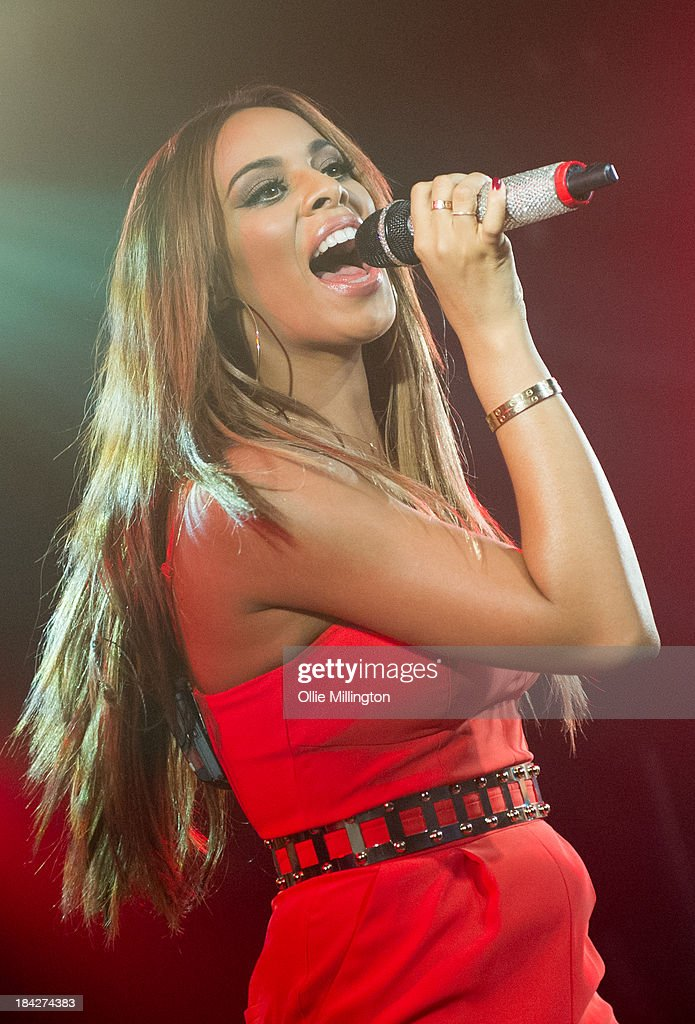 Rochelle Humes of The Saturdays performs at G-A-Y on October 12, 2013 in London, England.