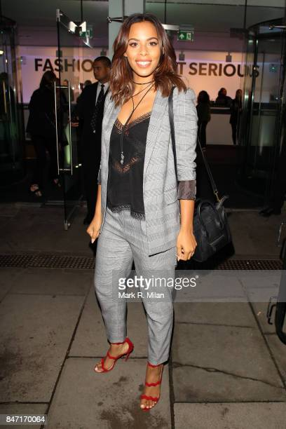 Rochelle Humes sighting on September 14 2017 in London England
