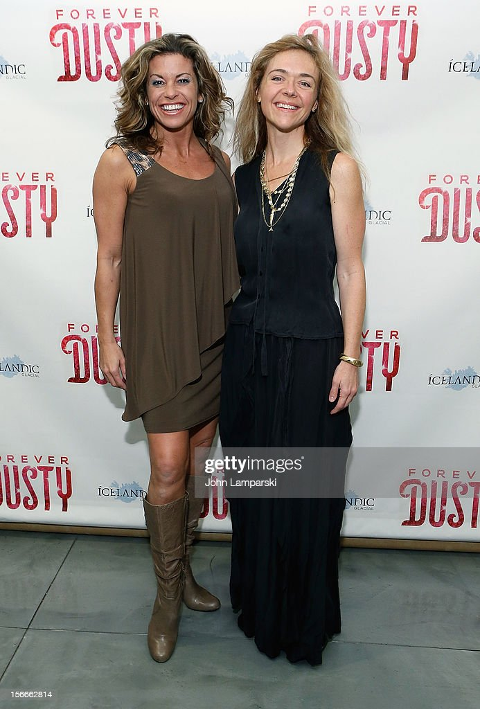 Rochelle Rock and Rachel Bay Jones attends the 'Forever Dusty' Opening Night at New World Stages on November 18, 2012 in New York City.
