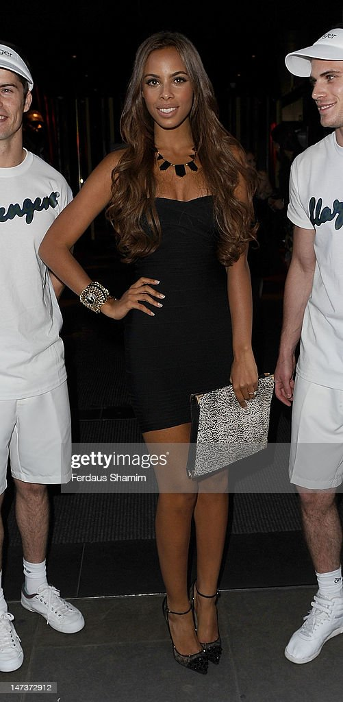 <a gi-track='captionPersonalityLinkClicked' href=/galleries/search?phrase=Rochelle+Wiseman&family=editorial&specificpeople=2118967 ng-click='$event.stopPropagation()'>Rochelle Wiseman</a> attends Slazenger's pre-Wimbledon party at Aqua on June 28, 2012 in London, England.