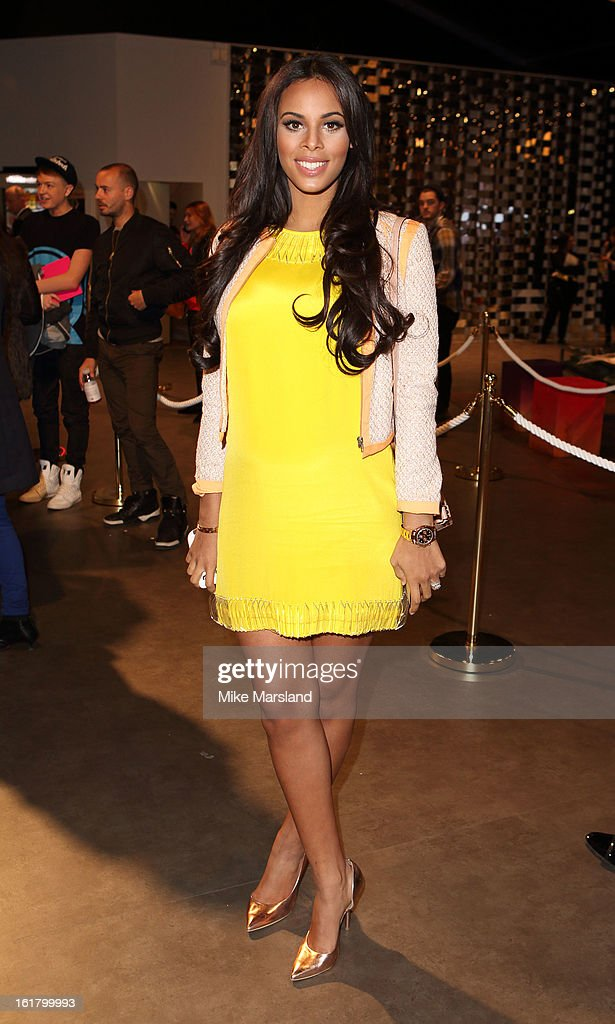 Rochelle Wiseman attends the Issa London show during London Fashion Week Fall/Winter 2013/14 at Somerset House on February 16, 2013 in London, England.
