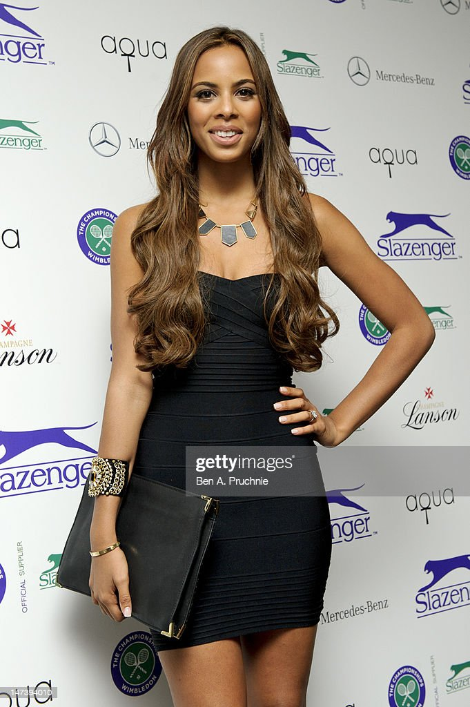 Rochelle Wiseman attends The Slazenger Party 2012 at Aqua on June 28, 2012 in London, England.