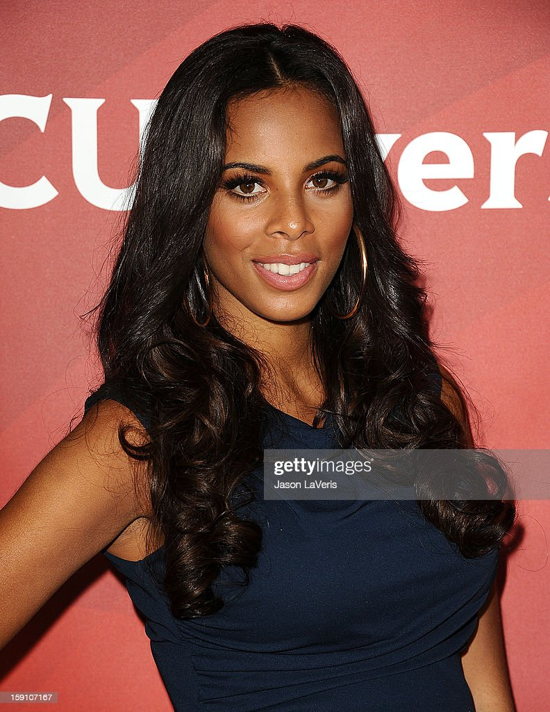 Rochelle Wiseman of The Saturdays attends the 2013 NBC TCA Winter Press Tour at The Langham Huntington Hotel and Spa on January 7, 2013 in Pasadena, California.
