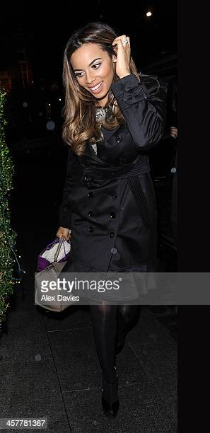 Rochelle Wiseman sighting on December 18 2013 in London England