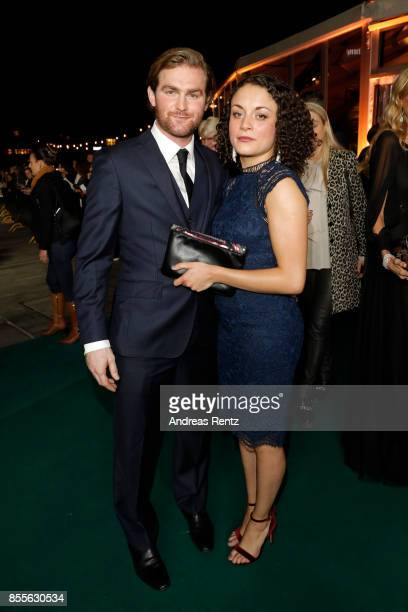 Rochenda Sandall and Mark Stanley attend the 'Euphoria' premiere during the 13th Zurich Film Festival on September 29 2017 in Zurich Switzerland The...