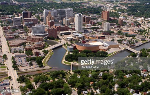 Rochester, MN - Aerial City View