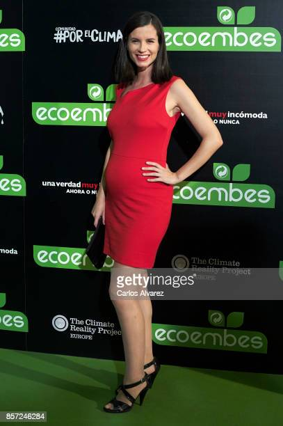 Rocio Anker attends 'An Inconvenient Sequel Truth to Power' premiere at the Callao cinema on October 3 2017 in Madrid Spain