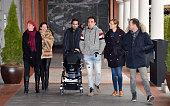 Rocio Carrasco and Fidel Albiac are seen on February 28 2016 in Madrid Spain