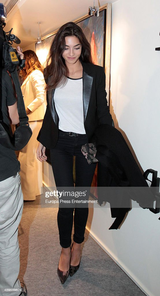 Rocio Herrera Montero attends the launch of their mother Marilo Montero's new book 'El Corazon de las Mujeres No Tiene Reglas' on November 24, 2014 in Madrid, Spain.