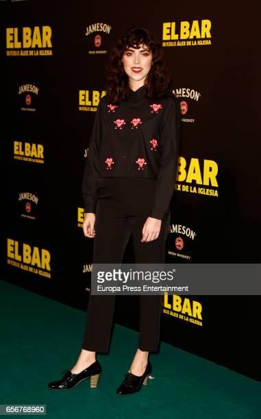 Rocio Leon attends 'El Bar' premiere at Callao cinema on March 22 2017 in Madrid Spain