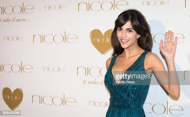 Rocio Morales attends the photocall of 'Nicole Fashion Show'