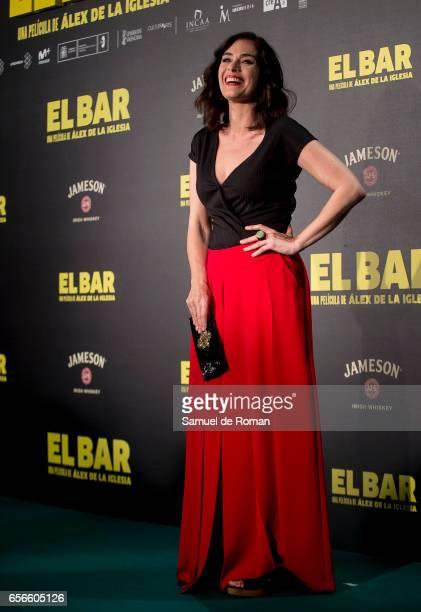 Rocio Munoz attends 'El Bar' premiere at Callao cinema on March 22 2017 in Madrid Spain