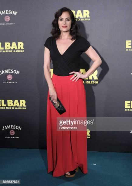 Rocio Munoz attends the 'El Bar' premiere at Callao cinema on March 22 2017 in Madrid Spain
