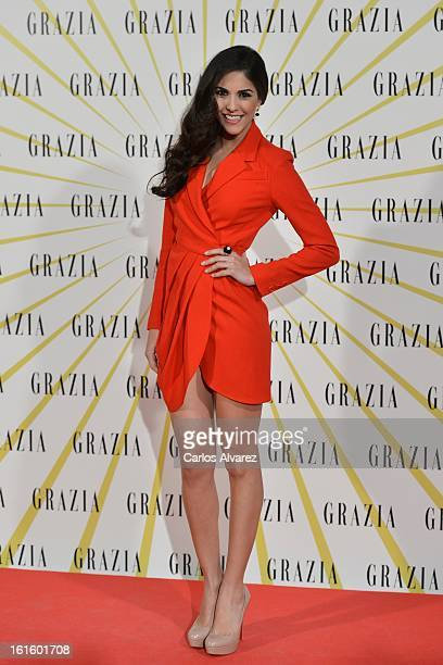 Rocio Munoz attends the 'Grazia' magazine launch party at the Price theater on February 12 2013 in Madrid Spain