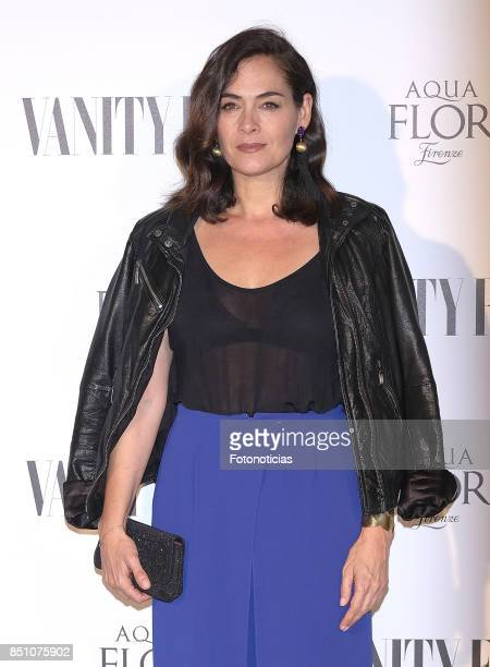 Rocio Munoz attends the Vanity Fair cocktail at the Casino de Madrid on September 21 2017 in Madrid Spain
