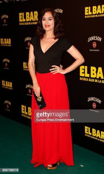 Rocio Muñoz attends 'El Bar' premiere at Callao cinema on March 22 2017 in Madrid Spain