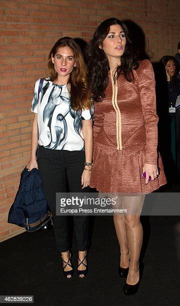 Rocio Peralta and Lourdes Montes attend the first day of the International Flamenco Fashion Show SIMOF 2015 at Palacio de Congresos on February 5...