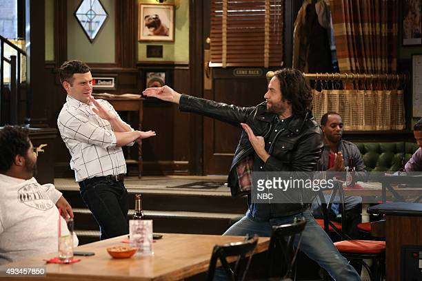 UNDATEABLE 'A Rock and a Hard Place Walk Into a Bar' Episode 303 Pictured Brent Morin as Justin Chris D'Elia as Danny