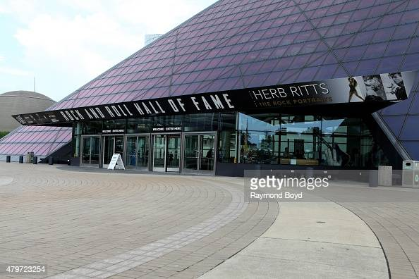 Rock and Roll Hall Of Fame and Museum on June 18 2015 in Cleveland Ohio
