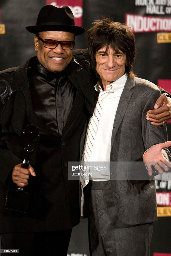 24th Annual Rock And Roll Hall Of Fame Induction Ceremony - Press Room