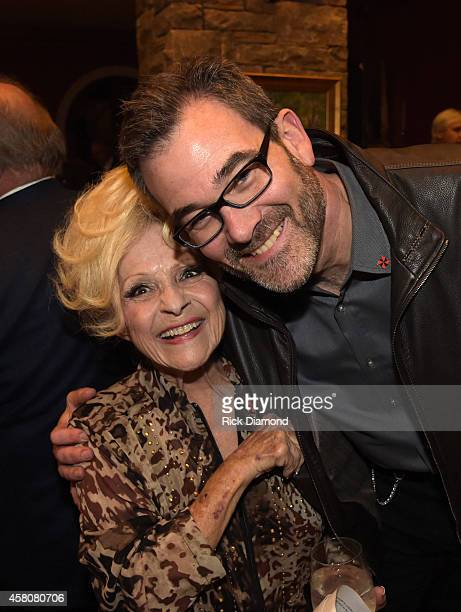 Rock and Roll Hall of Fame member Brenda Lee and Executive Producer ABC's Nashville Steve Buchanan attend A Tribute to Phil Everly to benifit COPD at...