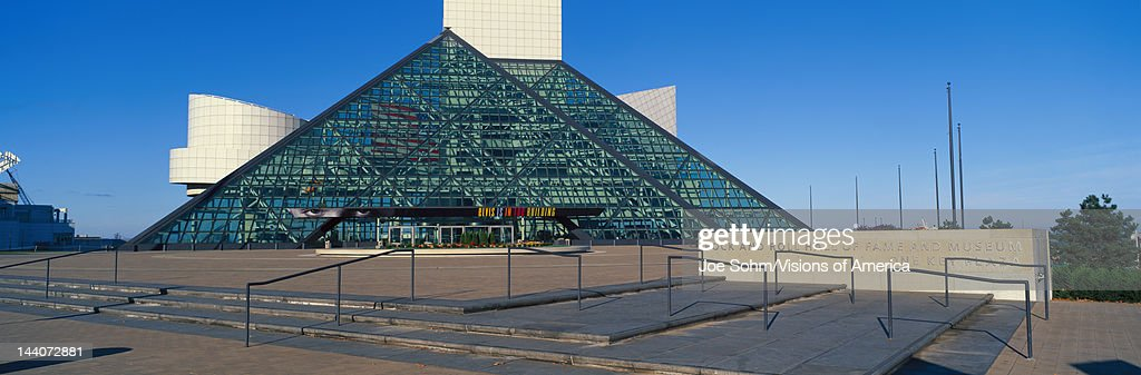 Rock and Roll Hall of Fame Museum Cleveland OH