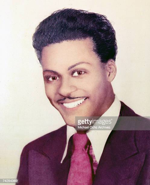 Rock and roll musician Chuck Berry poses for a portrait in circa 1956