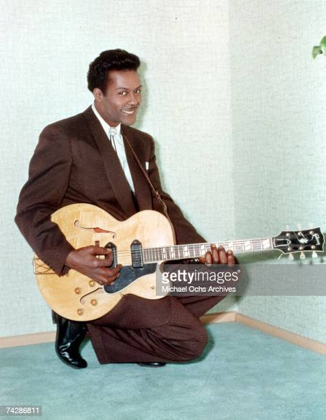 Rock and roll musician Chuck Berry poses for a portrait in circa 1960 in Chicago Illinois