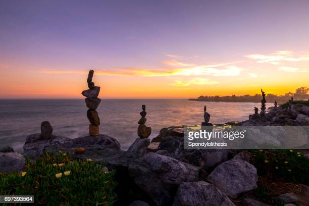 Rock Art and Sunset