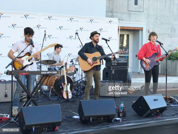 Rock band Air Traffic Controller performs at Google in Venice California on May 21 2017