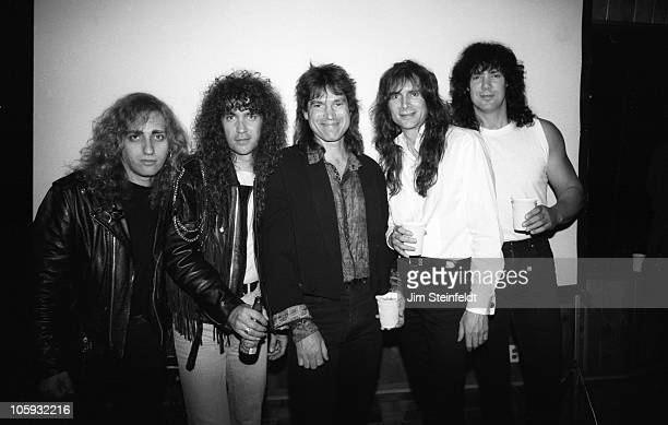 Rock band Alias poses for a portrait at Paisley Park Studios in Chanhassen Minnesota on May 31 1990