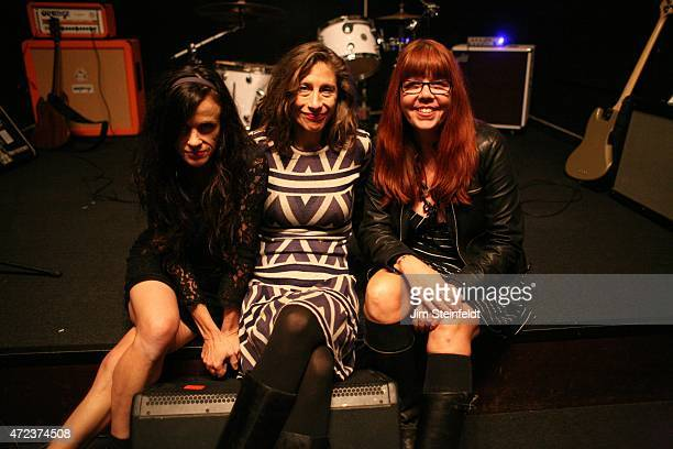 Rock band Babes in Toyland Kat Bjelland Maureen Herman and Lori Barbero pose for a portrait at Amp Rehearsal in N Hollywood California on November 16...