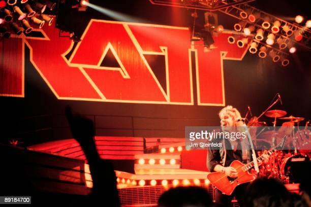 Rock band Ratt performs in Minnesota in 1987