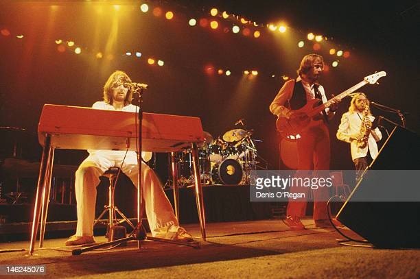 Rock band Supertramp in concert circa 1979