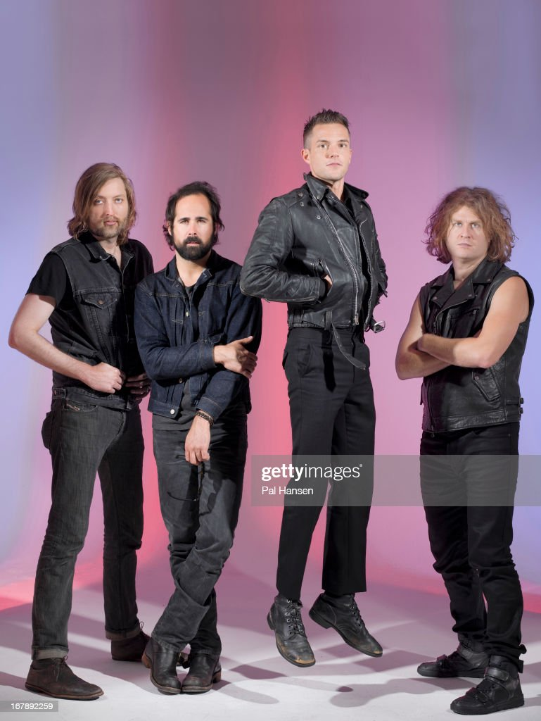 Rock band The Killers are photographed for the Independent on August 28, 2012 in London, England.