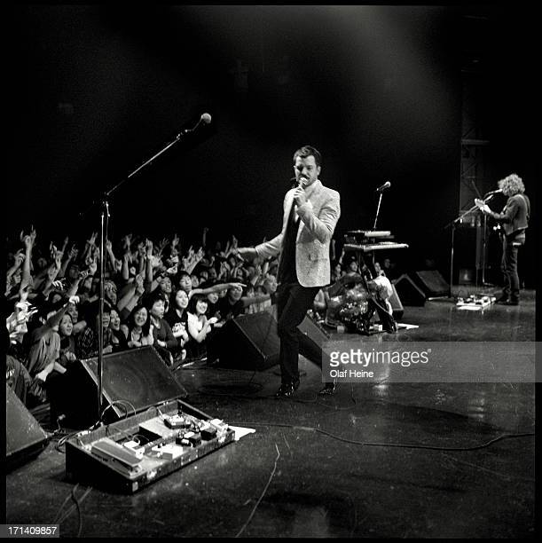 Rock band The Killers are photographed on January 20 2007 in Kyoto Japan