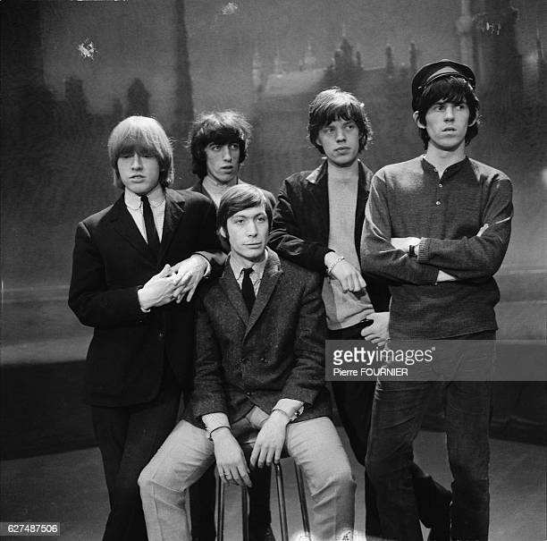 Rock band The Rolling Stones in Paris