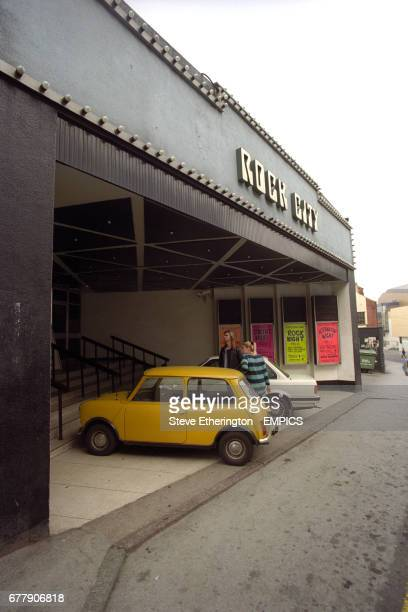Rock City music venue and nightclub in Nottingham which opened in 1980