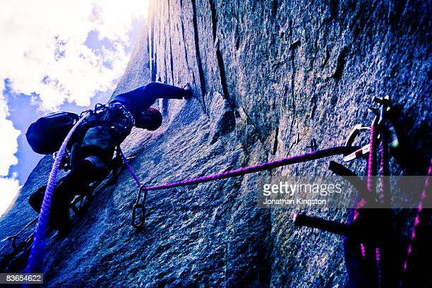 Rock climber, Yosemite, California.