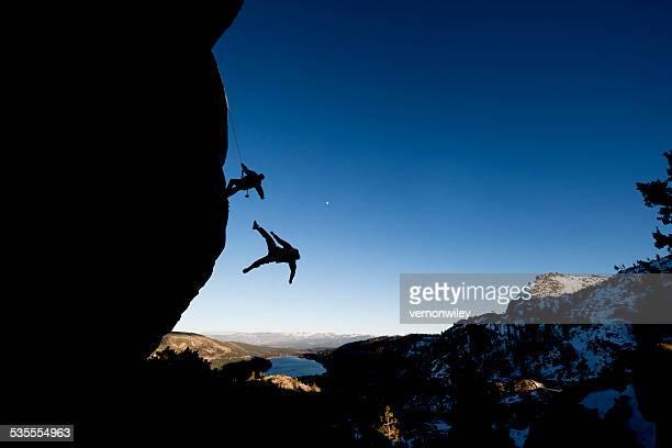 rock climbing fail
