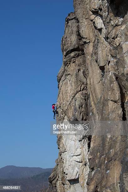 Klettern in Dürnstein Österreich