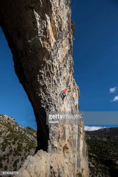 Klettern in Rodellar Aragon Spanien