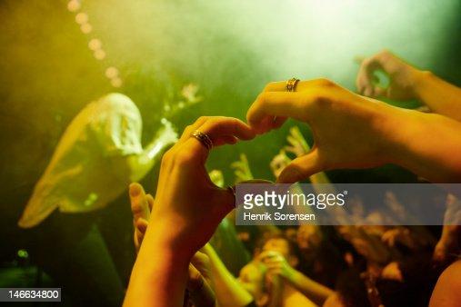 Rock concert : Stock Photo