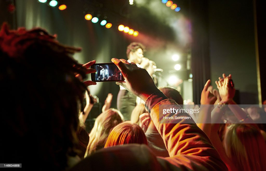Rock concert : Stock Photo