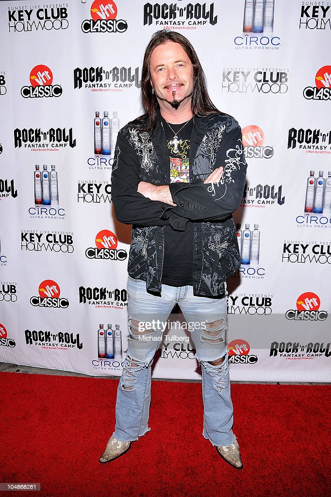 Rock drummer John Payne arrives at the premiere party for VH1 Classic's 'Rock 'N' Roll Fantasy Camp' TV show on October 5, 2010 in Los Angeles, California.