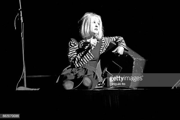 'Rock for Vote' at St Ann's Church in Brooklyn in October 1992This imageCyndi Lauper