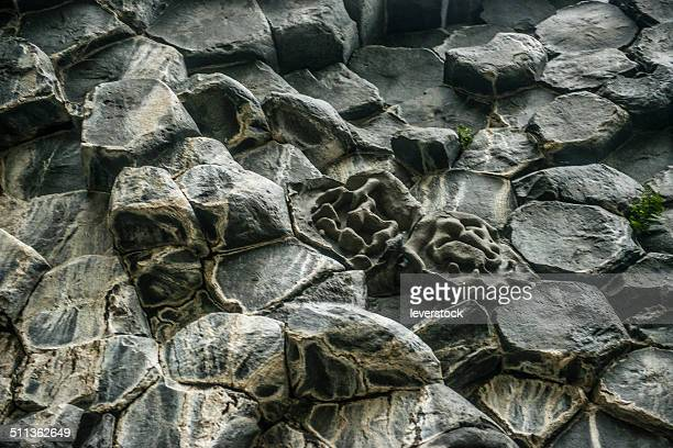 Rock formation at Jokulsarglufur National Park
