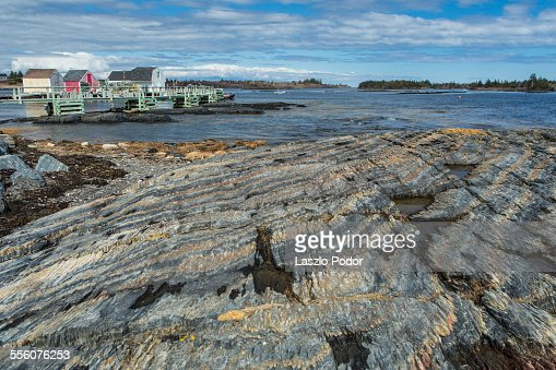 Rock Formation in Blue Rocks : Stock Photo