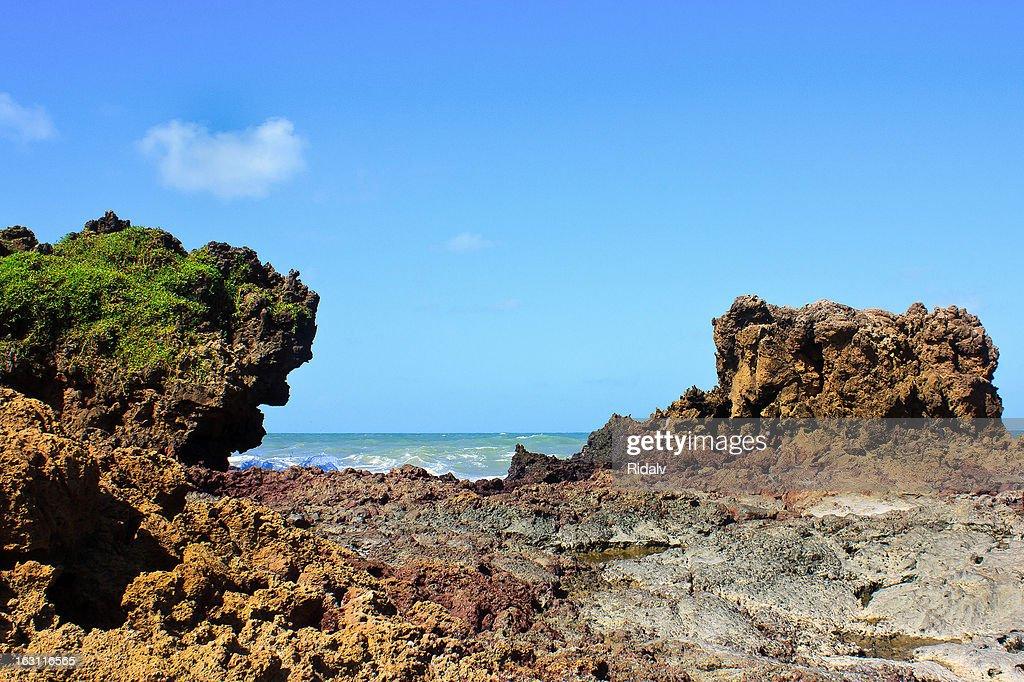 Rock formation Tambaba Beach